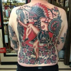 Tattoo by Buddy Holiday
