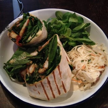 When Haloumi Met Salad Wrap, £8.30