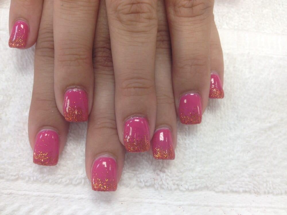 Pink Glitter Gel Nail Polish Pink Gel Nail Polish