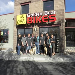 Golden Bear Bikes logo