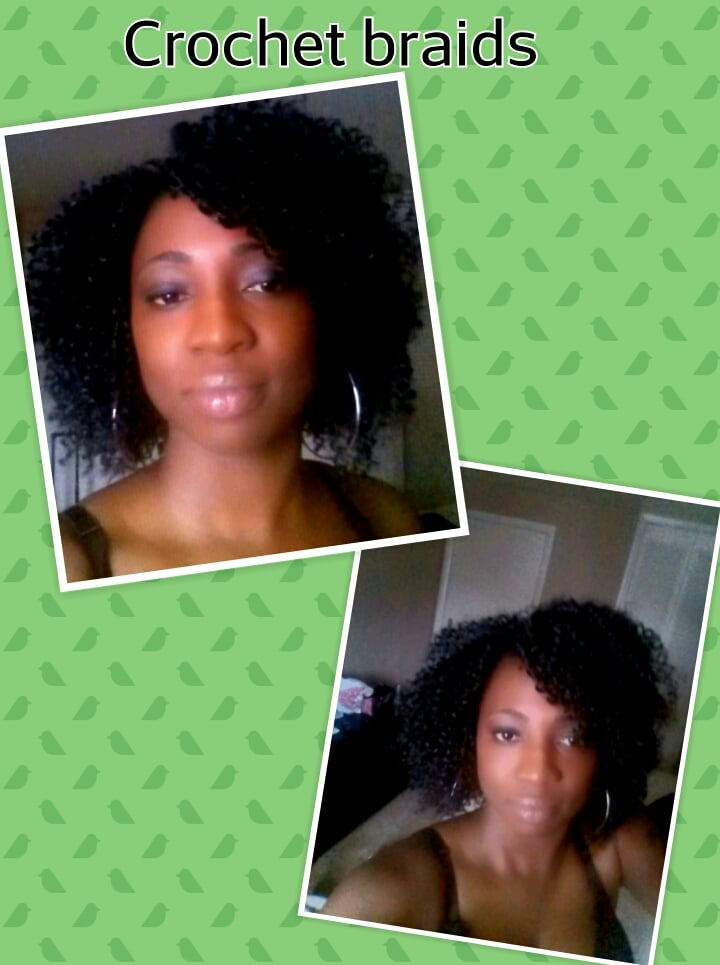 Crochet Braids By Blessed : Crochet braids with freetress water wave Yelp