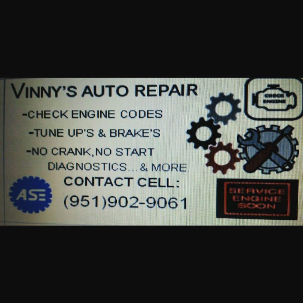 2017 vinnys auto repair auto repair riverside ca reviews photos fandeluxe Image collections