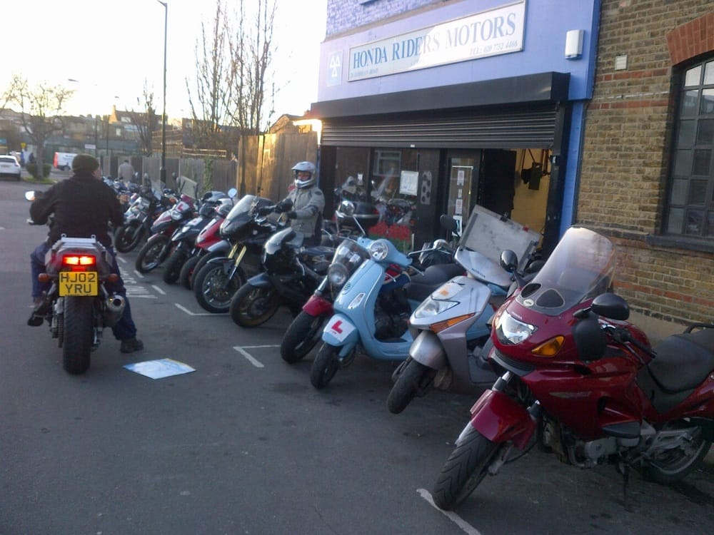 Honda riders motors motorcycle dealers peckham rye for Motor scooter dealers near me