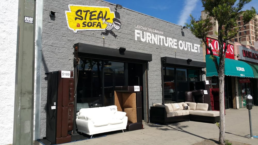 Steal A Sofa Furniture Outlet Furniture Stores Downtown Los Angeles CA
