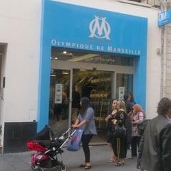 boutique officielle de l olympique de marseille noailles marseille france yelp. Black Bedroom Furniture Sets. Home Design Ideas
