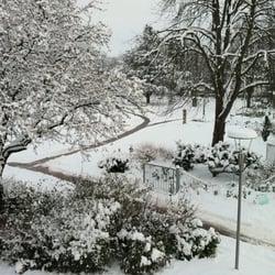 Bürgergarten im Winter