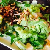 . Goat Cheese Salad - Boston Bibb, toasted pine nuts, roasted shallot ...