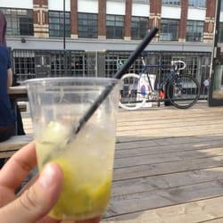Caipirinhas at F+G's pop up bar.