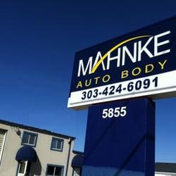 Mahnke Auto Body logo