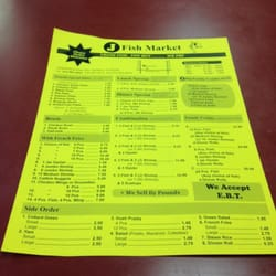 J fish market seafood markets gardena ca united for J j fish menu