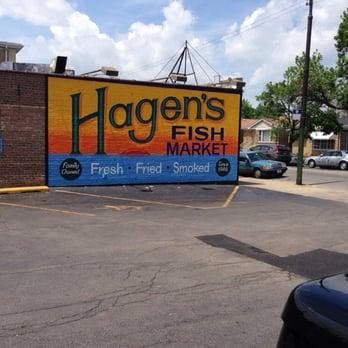 Hagen s fish market portage park chicago il yelp for Hagen s fish market