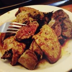 Steak with Foie Gras. I know.