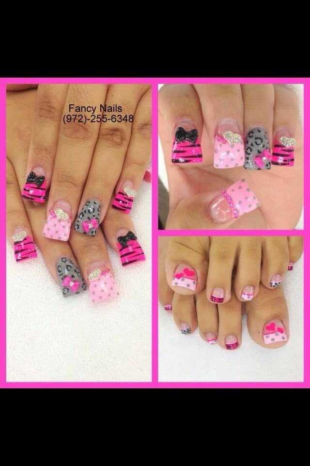 Magnificent Fancy Pink Nails Ensign - Nail Art Design Ideas ...