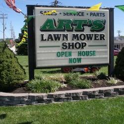 Arts lawn mower black jack mo