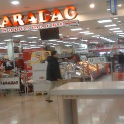 Eingangsbereich des Supermarktes