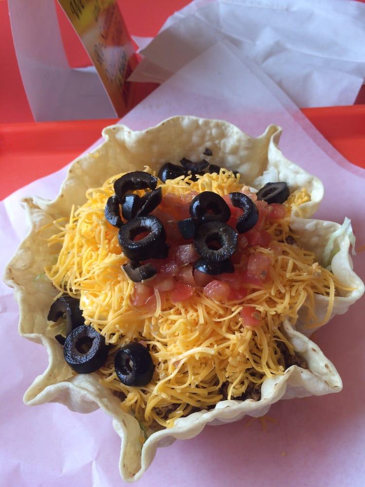 Super Nachos Taco Casa Super Salad Taco Casa