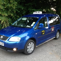 One of our taxi in Lyndhurst