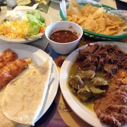 Old Mexico Restaurant - Enchiladas, chili verde, barbacoa, spanish rice, beans, tortillas and chips + salsa--AYCE! - Anaheim, CA, Vereinigte Staaten