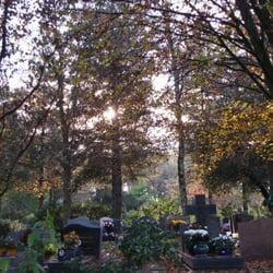 Le cimetière du Parc, Nantes, France