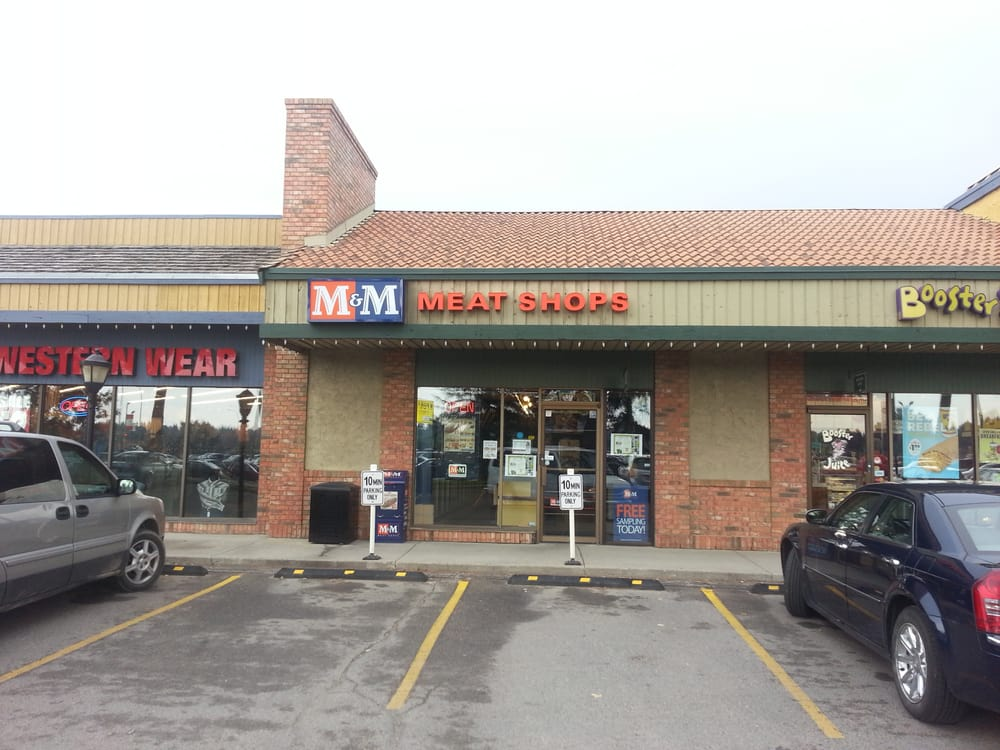 M M Meat Shops Shopping Centers Calgary AB Canada