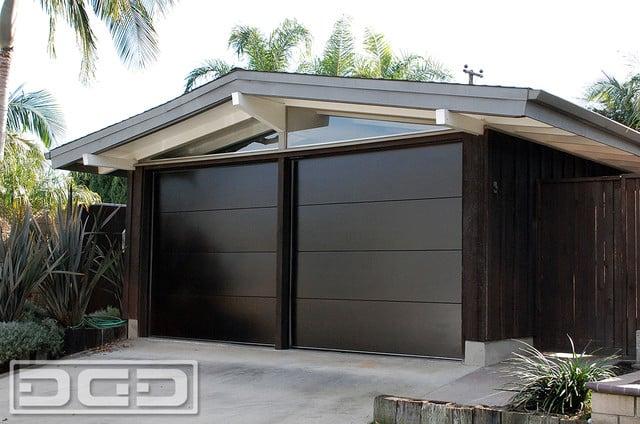 Mid Century Modern Garage Doors Custom Manufactured
