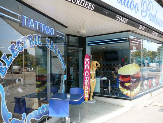 The tattoo Parlour Cafe, Bournemouth