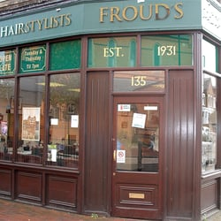 Froud & Co gentleman's hairdressers on Lavender Hill, SW11