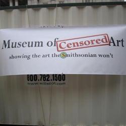 Museum of Censored Art logo