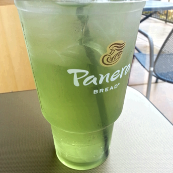 how to make panera bread green tea