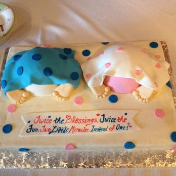 Baby Shower Cake....Everyone commented that it was so cute!! - Round ...