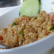 Merlion Restaurant & Bar - Cupertino, CA, États-Unis. Nom nom nom .... Thai basil fried rice