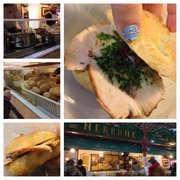 Turkey sandwich- ask for green and…