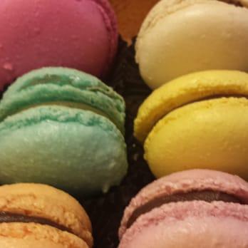 Miel Bon Bons - Durham, NC, United States. Macarons :) pistachio, sea ...