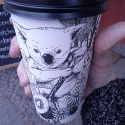 Mon thé matcha à emporter dans une cup…