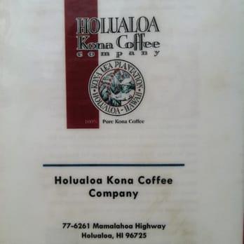 Holualoa Kona Coffee Company Tour