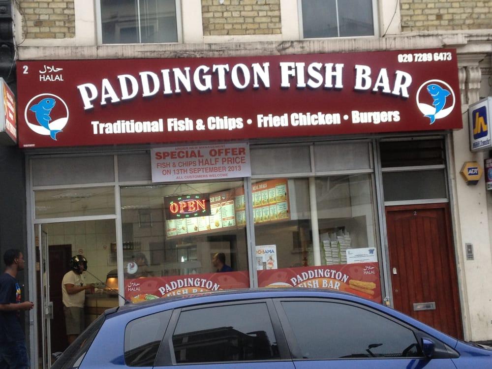 Paddington fish bar fish chips maida hill london for Oak city fish and chips