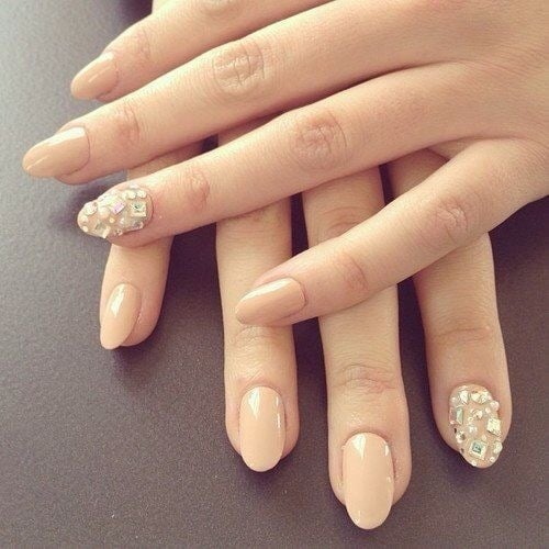 Almond Shape Gel Nails