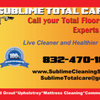 Sublime Total Care: Upholstery Cleaning