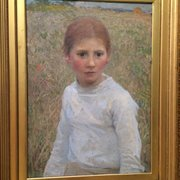 George Clausen: Brown Eyes