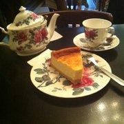 Cheesecake + thé d'Assam = tuerie !