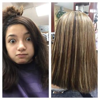 Lynn hair design 23 photos hair salons north valley for 2 blond salon reviews