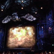 Waiting for Wicked to begin