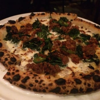 spicy spezie is made with sautéed broccoli rabe broccolini and spicy ...