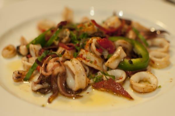 calamari calamares a la plancha squid a la plancha calamari a la