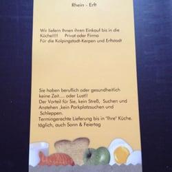 Einkaufs & Lieferservice Rhein-Erft, Kerpen, Nordrhein-Westfalen, Germany