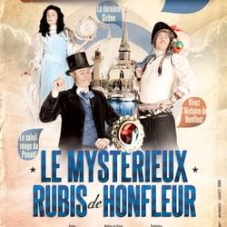 Le Mystérieux Rubis de Honfleur, Honfleur, Calvados