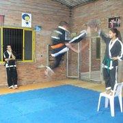 Filipe Heinen, aula de Hapkido