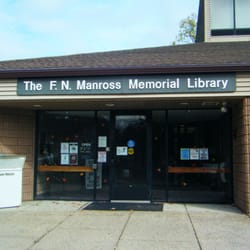 F.N. Manross Memorial Library - Nice new looking building - Forestville, CT, Vereinigte Staaten