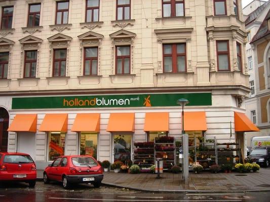 Holland blumen mark wien österreich
