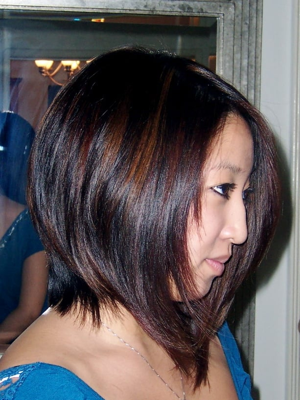 Hair Highlights For Asian Hairs Picture Gallery